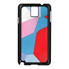 Colorful Pastel Shapes Samsung Galaxy Note 3 N9005 Case (black) by LalyLauraFLM