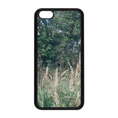 Grass And Trees Nature Pattern Apple Iphone 5c Seamless Case (black) by ansteybeta