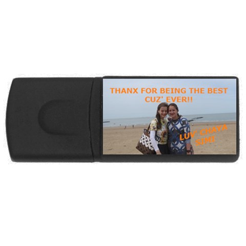 Ettis Usb Stick By Diane   Usb Flash Drive Rectangular (1 Gb)   Vj7uye1ypusf   Www Artscow Com Front