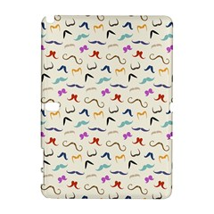 Mustaches Samsung Galaxy Note 10 1 (p600) Hardshell Case by boho