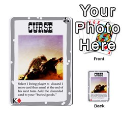 Mike Death Mesa By Nukeme1   Multi Purpose Cards (rectangle)   Mh829udvcz4f   Www Artscow Com Front 52