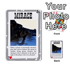 Mike Death Mesa By Nukeme1   Multi Purpose Cards (rectangle)   Mh829udvcz4f   Www Artscow Com Front 22