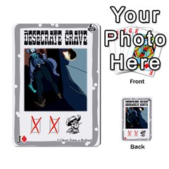 Mike Death Mesa By Nukeme1   Multi Purpose Cards (rectangle)   Mh829udvcz4f   Www Artscow Com Front 37