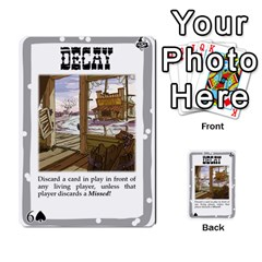 Mike Death Mesa By Nukeme1   Multi Purpose Cards (rectangle)   Mh829udvcz4f   Www Artscow Com Front 39