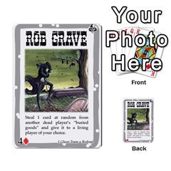 Mike Death Mesa By Nukeme1   Multi Purpose Cards (rectangle)   Mh829udvcz4f   Www Artscow Com Front 49