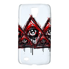 Red White Pyramids Samsung Galaxy S4 Active (i9295) Hardshell Case