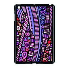 Stained Glass Tribal Pattern Apple Ipad Mini Case (black) by KirstenStar