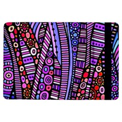 Stained Glass Tribal Pattern Apple Ipad Air Flip Case by KirstenStar