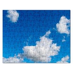 Bright Blue Sky 2 Jigsaw Puzzle (rectangle) by ansteybeta