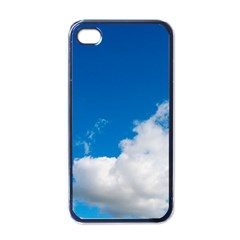 Bright Blue Sky 2 Apple Iphone 4 Case (black) by ansteybeta