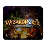 wizard poker - Large Mousepad
