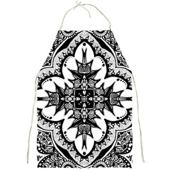 Doodle Cross  Apron by KirstenStar