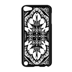 Doodle Cross  Apple Ipod Touch 5 Case (black) by KirstenStar