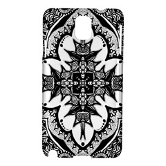 Doodle Cross  Samsung Galaxy Note 3 N9005 Hardshell Case by KirstenStar