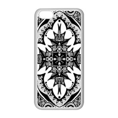 Doodle Cross  Apple Iphone 5c Seamless Case (white) by KirstenStar