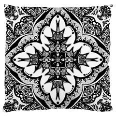 Doodle Cross  Standard Flano Cushion Case (two Sides) by KirstenStar