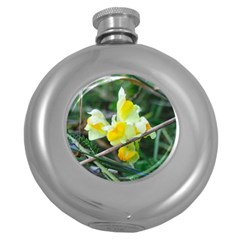 Linaria Hip Flask (round)