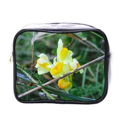 Linaria Mini Travel Toiletry Bag (one Side) by ansteybeta