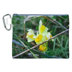 Linaria Canvas Cosmetic Bag (xxl) by ansteybeta