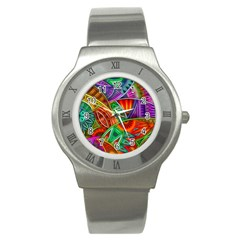 Happy Tribe Stainless Steel Watch (slim) by KirstenStar