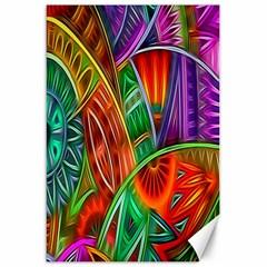 Happy Tribe Canvas 20  X 30  (unframed) by KirstenStar