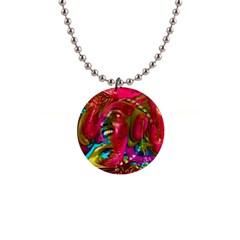 Music Festival Button Necklace