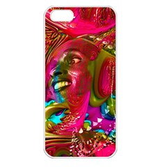 Music Festival Apple Iphone 5 Seamless Case (white) by icarusismartdesigns