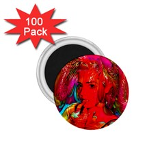 Mardi Gras 1 75  Button Magnet (100 Pack) by icarusismartdesigns