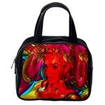 Mardi Gras Classic Handbag (One Side) Front