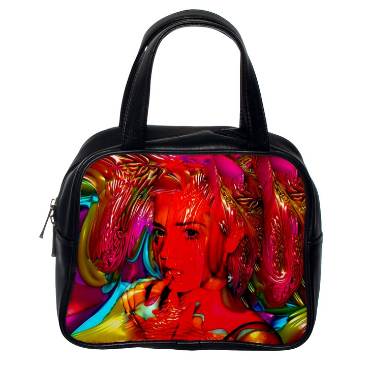 Mardi Gras Classic Handbag (One Side)