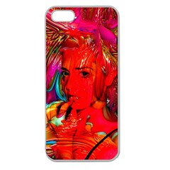 Mardi Gras Apple Seamless Iphone 5 Case (clear) by icarusismartdesigns