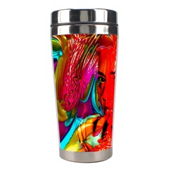 Mardi Gras Stainless Steel Travel Tumbler by icarusismartdesigns