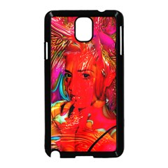 Mardi Gras Samsung Galaxy Note 3 Neo Hardshell Case (black) by icarusismartdesigns