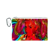 Mardi Gras Canvas Cosmetic Bag (small) by icarusismartdesigns