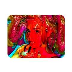 Mardi Gras Double Sided Flano Blanket (mini) by icarusismartdesigns