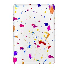 Multicolor Splatter Abstract Print Samsung Galaxy Tab Pro 12 2 Hardshell Case by dflcprints