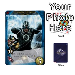 Legenday Heroes Mutant Expansion 1 By Branden Sprenger   Playing Cards 54 Designs   K3rakh17zjr7   Www Artscow Com Front - Club3