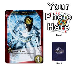Legenday Heroes Mutant Expansion 1 By Branden Sprenger   Playing Cards 54 Designs   K3rakh17zjr7   Www Artscow Com Front - Club8