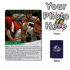 Legenday Heroes Mutant Expansion 1 By Branden Sprenger   Playing Cards 54 Designs   K3rakh17zjr7   Www Artscow Com Front - Joker2