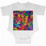 Colorful Floral Abstract Painting Infant Bodysuit