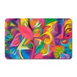 Colorful Floral Abstract Painting Magnet (Rectangular)