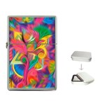 Colorful Floral Abstract Painting Lighter