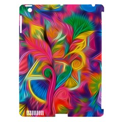 Colorful Floral Abstract Painting Apple Ipad 3/4 Hardshell Case (compatible With Smart Cover) by KirstenStar
