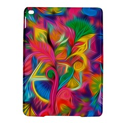 Colorful Floral Abstract Painting Apple Ipad Air 2 Hardshell Case by KirstenStar