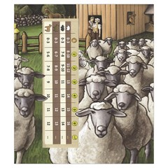 Agricola Allcreatures Animals Score S By Alex C   Drawstring Pouch (small)   Ce7c3rco428a   Www Artscow Com Back