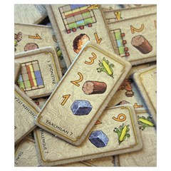 Tzolkin Starttokens S By Alex C   Drawstring Pouch (small)   Ka1gvn5a019k   Www Artscow Com Front