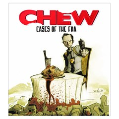 Chew Large By Dean   Drawstring Pouch (large)   Uhsbrdizhu18   Www Artscow Com Front