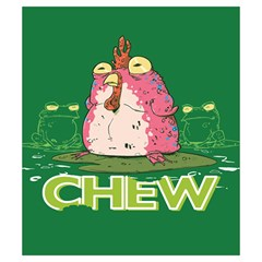 Chew Small By Dean   Drawstring Pouch (small)   Yvn79ipv4nmy   Www Artscow Com Back