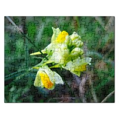 Linaria Flower Jigsaw Puzzle (rectangle) by ansteybeta