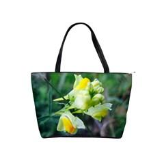 Linaria Flower Large Shoulder Bag by ansteybeta